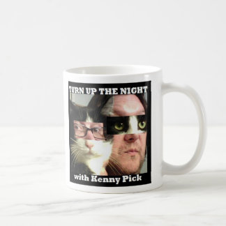 Turn Up The Night with Kenny Pick Logo Mug