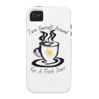 Turn Yourself Around for a FRESH START Case-Mate iPhone 4 Cases