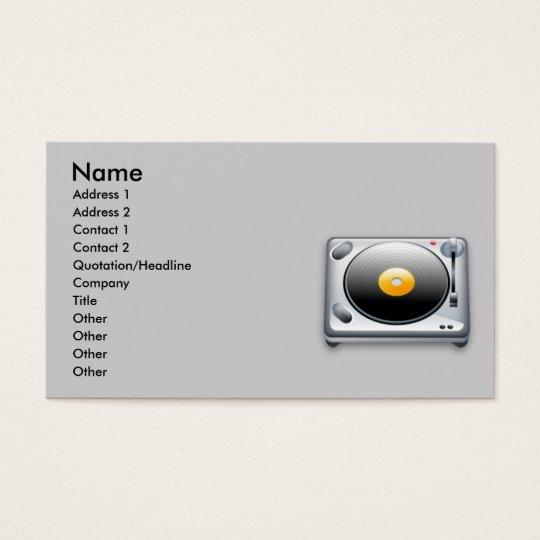 turnable_256, Name, Address 1, Address 2, Conta... Business Card