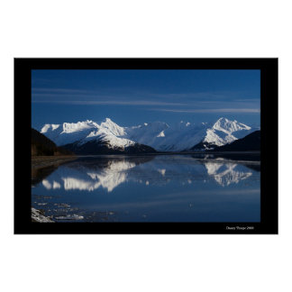 Turnagain Reflections Poster