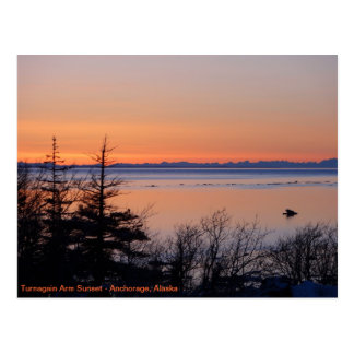 Turnagain Sunset Postcard