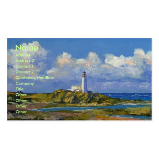 Turnberry Lighthouse Business Card
