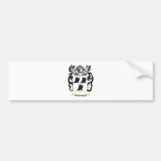 Turnbull Family Crest (Coat of Arms) Bumper Sticker