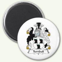 Turnbull Family Crest Magnet