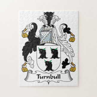 Turnbull Family Crest Jigsaw Puzzle