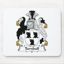 Turnbull Family Crest Mousepad