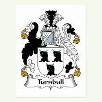 Turnbull Family Crest Postcard