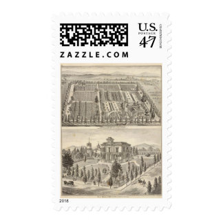 Turnbull's Nursery, Fitch res Postage
