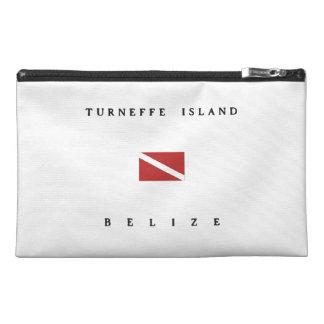 Turneffe Island Belize Scuba Dive Flag Travel Accessory Bag