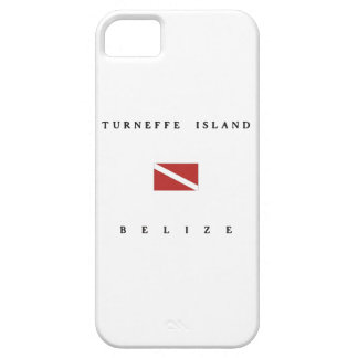 Turneffe Island Belize Scuba Dive Flag iPhone SE/5/5s Case
