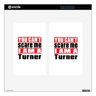 Turner can't scare designs kindle fire decal