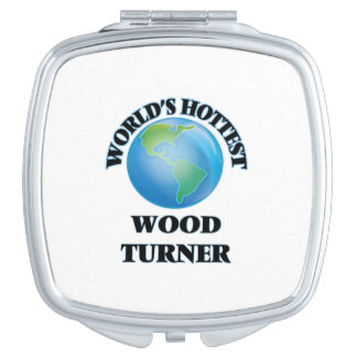 Turner de madera más caliente del mundo espejos de maquillaje