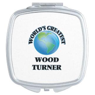 Turner de madera más grande del mundo espejos de maquillaje