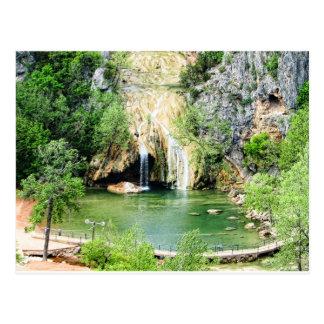Turner Falls, OKlahoma in HDR Postcard
