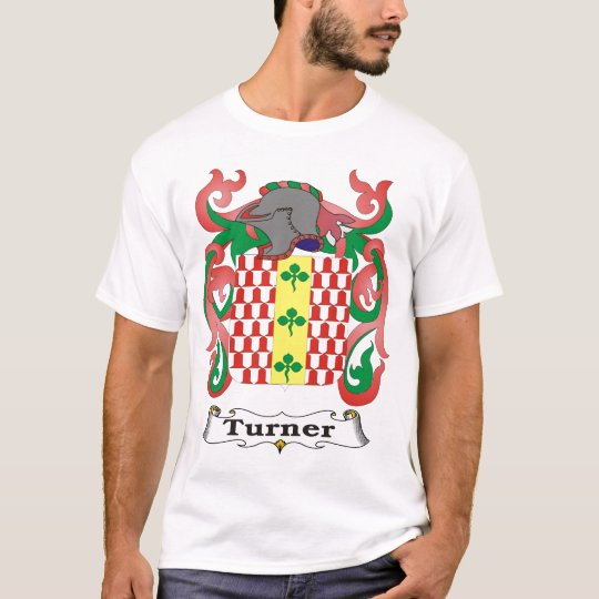 Turner Family Coat of Arms T-shirt