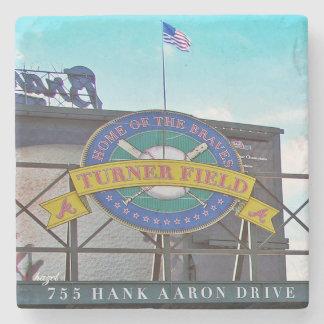 Turner Field Hank Aaron Dr,Atlanta Marble Coaster. Stone Coaster