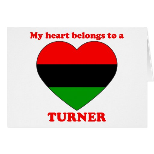 Turner Greeting Card