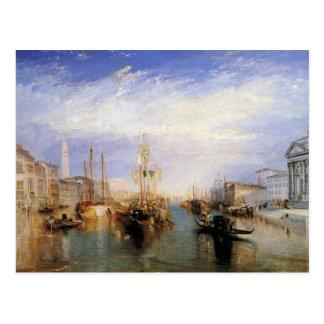 turner, j m w - the grand canal - venice postcard