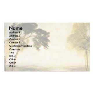 Turner Joseph Mallord William Double-Sided Standard Business Cards (Pack Of 100)