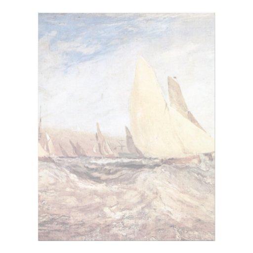 Turner Joseph Mallord William Custom Letterhead