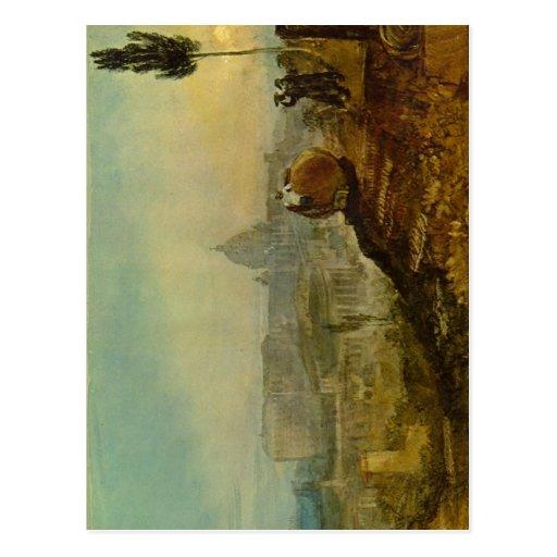 Turner, Joseph Mallord William Die Peterskirche vo Postcard