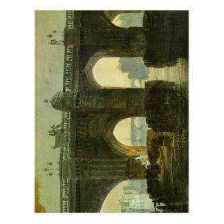 Turner, Joseph Mallord William Old London Brige 17 Postcard