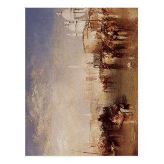 Turner, Joseph Mallord William Venedig, vom Canale Postcard
