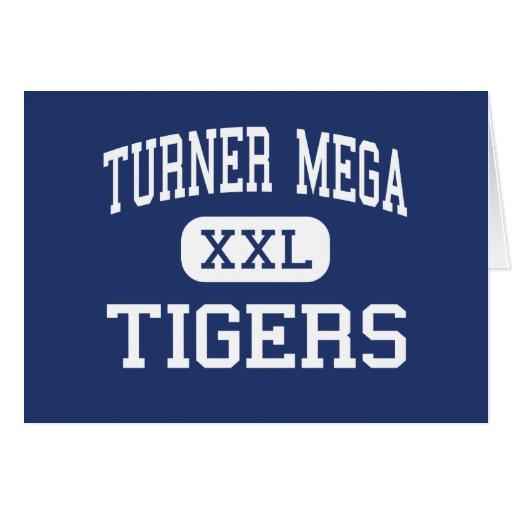 Turner MEGA Tigers Magnet Saint Louis Greeting Card