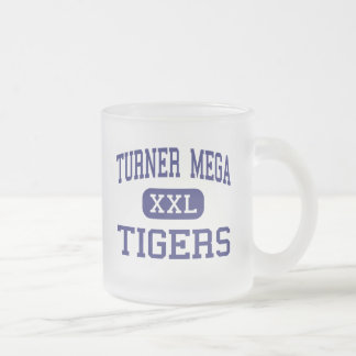 Turner MEGA Tigers Magnet Saint Louis Frosted Glass Coffee Mug