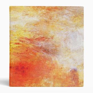 "Turner Sun que fija sobre un paisaje del extracto Carpeta 1"""