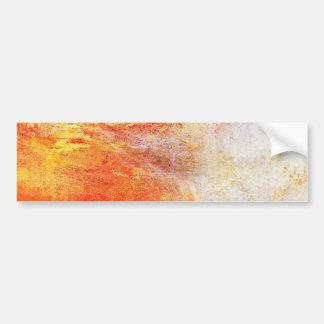 Turner Sun que fija sobre un paisaje del extracto Pegatina Para Auto