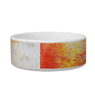 Turner Sun Setting Over A Lake Abstract Landscape Bowl