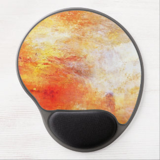 Turner Sun Setting Over A Lake Abstract Landscape Gel Mouse Pad