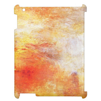 Turner Sun Setting Over A Lake Abstract Landscape iPad Covers