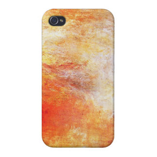 Turner Sun Setting Over A Lake Abstract Landscape iPhone 4/4S Cover