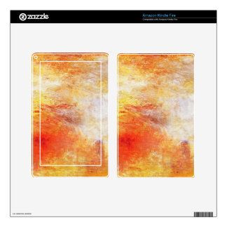 Turner Sun Setting Over A Lake Abstract Landscape Kindle Fire Decals