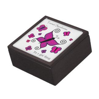 Turner Syndrome- It's a Girl Thing gift box Premium Keepsake Boxes