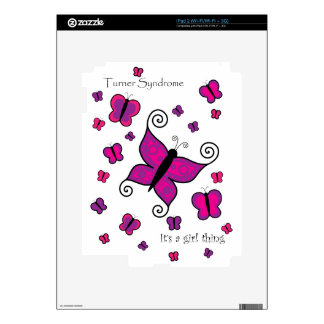 Turner Syndrome- It's a Girl Thing iPad 2 Skin