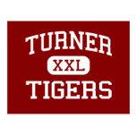Turner - Tigers - Elementary - Shreveport Postcard