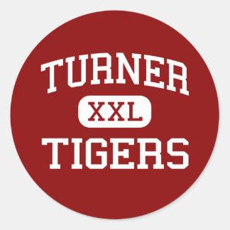 Turner - tigres - elemental - Shreveport Etiqueta