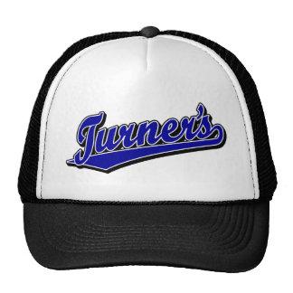 Turner's script logo in Blue Trucker Hat