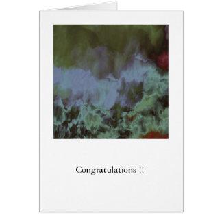 Turner's Sky Congratulations Greetings Card