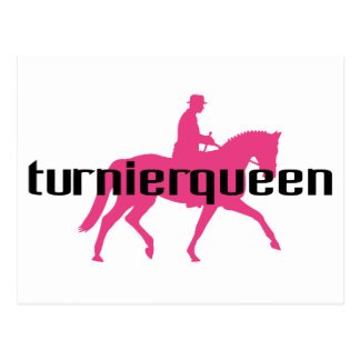Turnierqueen - Queen of all competitions Postcard