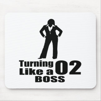 Turning 02 Like A Boss Mouse Pad
