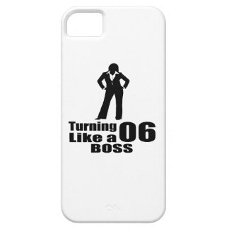 Turning 06 Like A Boss iPhone SE/5/5s Case