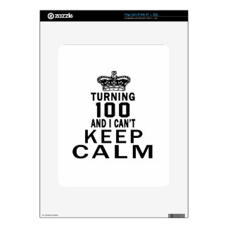 Turning 100 and i can't keep calm skin for the iPad