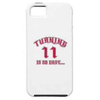 Turning 11 Is So Easy Birthday iPhone SE/5/5s Case