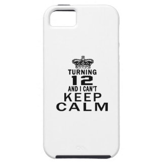 Turning 12 and i can't keep calm iPhone 5 cover