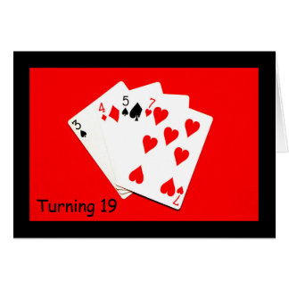 Turning 19 Is A Big Deal! Card