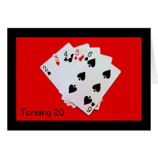 Turning 20 Is A Big Deal! Card